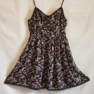 reformed Dresses - NWOT Sheer Flowered Layered Dress lace-up back M